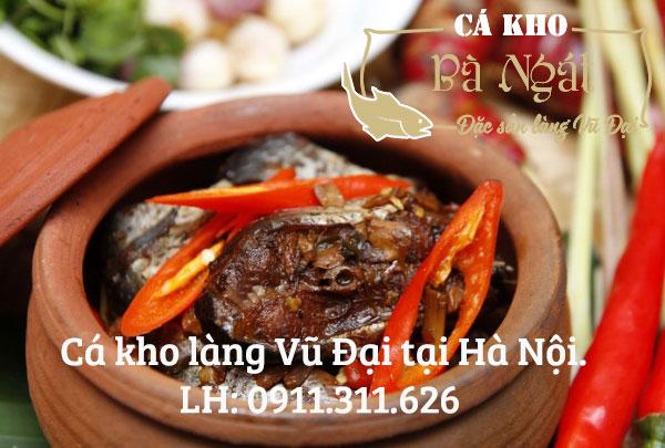 Mua Cá Kho Làng Vũ Đại tại Hà Nội